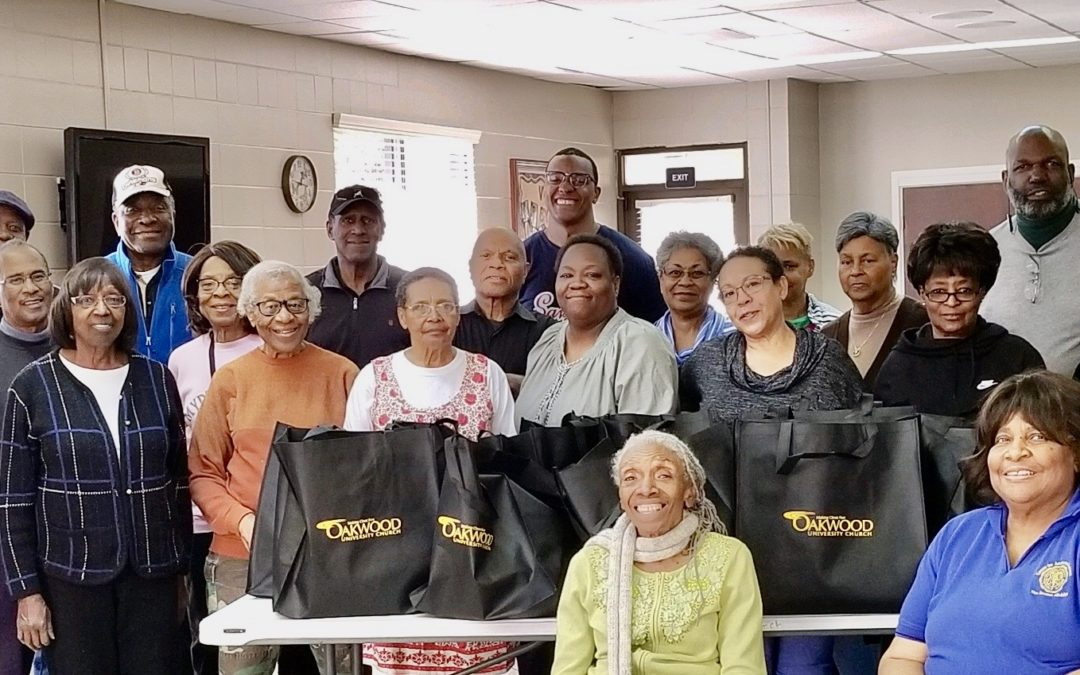 Oakwood University Church Volunteers Distribute Food