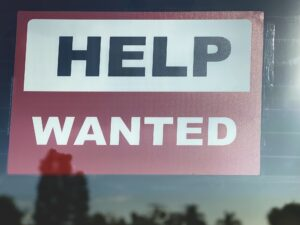 HELP WANTED sign can be used for so many different things